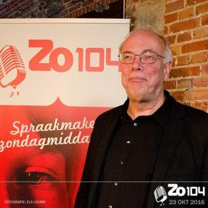 Jan de Jong komt met en sterk verhaal over taal op 23 oktober 2016.