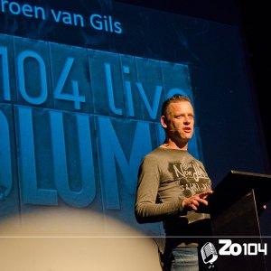 Jeroen van Gils in de Zo104 Column van 18 oktober 2015.