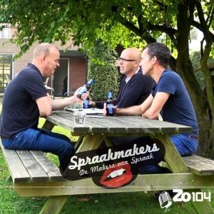 Bas Cornelissen, Marcel Gerrits en Maarten Cornelissen in De Spraakmakers van Zo104.