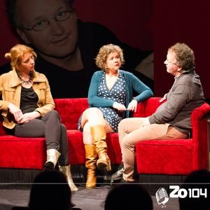 Joris van de Kerkhof, Nederlandse radioverslaggever, gast bij Zo104 op 23 feb. 2014.