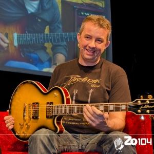 Peter Herwegh van Brandin Guitars uit Hulten vertelt alles over zijn gitaarmerken
