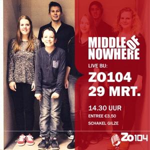 Band MON bij Zo104