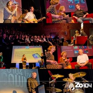 Gasten Zo104 show 1 feb 2015