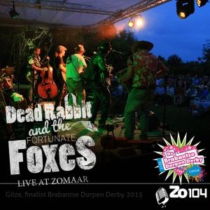 Band bij ZoMaar 18-7-2015