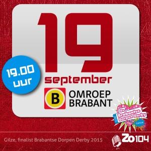 19 sep. Omroep Brabant