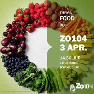 3 april 2016 zo104 show thema food