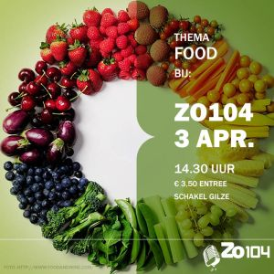 3 april 2016 zo104 show thema food