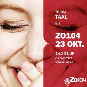Taal bij Zo104 op 23 oktober