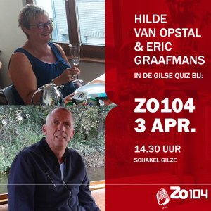 Eric en Hilde in de Gilse Quiz