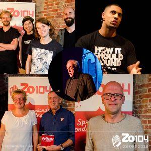 Gasten bij Zo104 op 23okt 2016