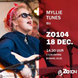 Myllie Tunes bij Zo104