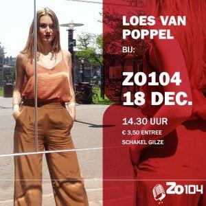 Loes van Poppel bij Zo104 18dec2016