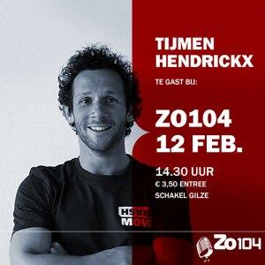 Tijmen Hendrickx te gast bij Zo104