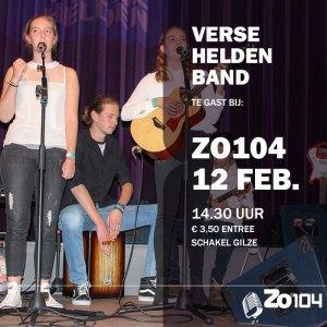 Verse Helden Band bij Zo104