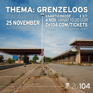 Zo104 show van 25 november