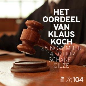 Rechter Klaus Koch bij Zo104