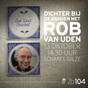 Rob van Uden te gast bij Zo104